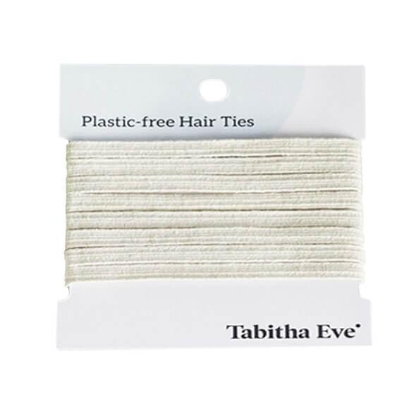 Plasticvrije Haarelastiekjes 8 stuks – creme