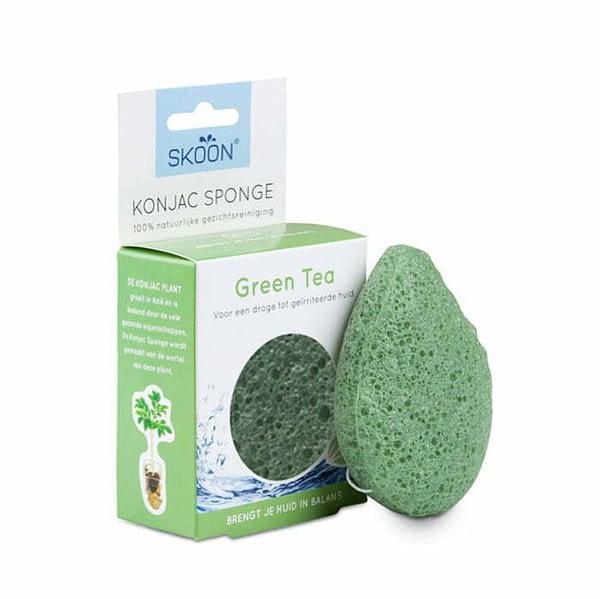 konjac spons groen