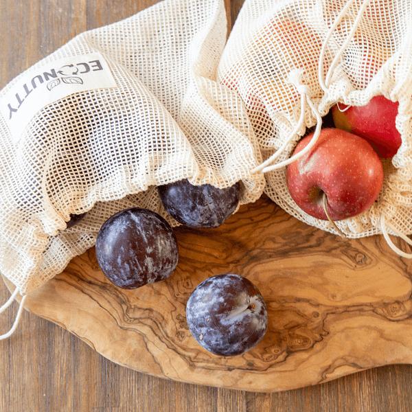 groente fruit netje plasticvrij boodschappen doen