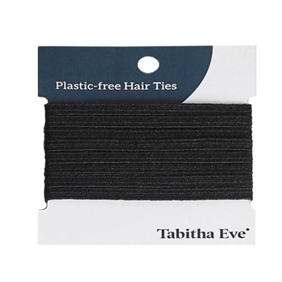 Plasticvrije Haarelastiekjes 8 stuks – zwart